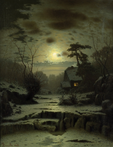 Louis Douzette - Winter Landscape.jpg