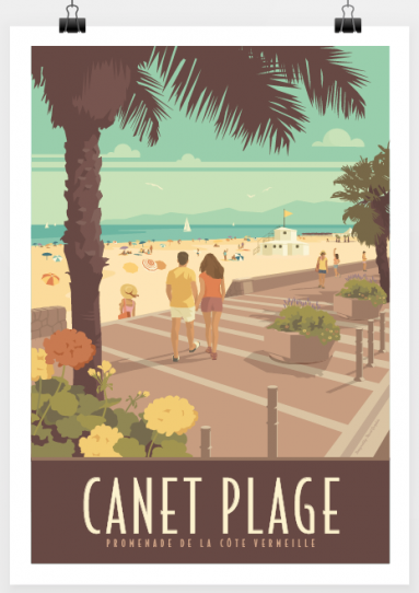 Travel-Poster-Canet-plage.png