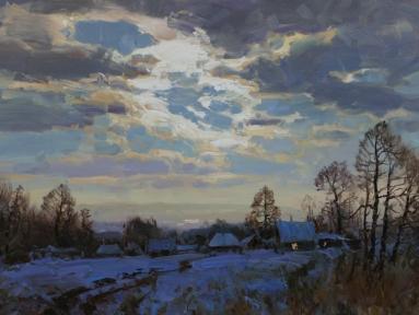 Evening sky Alexander Babich .jpg